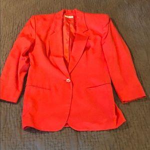 Talbots Coral Jacket Blazer size 4